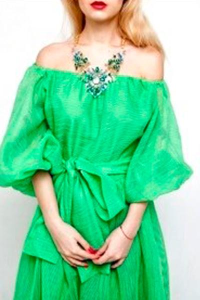 светлая зелень